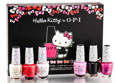 "OPI ""Hello Kitty"" 3-D Collector's Edition Box!  Holiday Christmas Gift."
