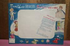 Vintage Terri Lee Fashions Empty Package for Pedal Pushers #3520C (A)