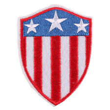 New USA Badge Patch Embroidered Iron/Sew ON Patch Sew Applique 2.5X2.0""
