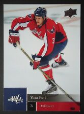 NHL 97 tom poti washington Packer Upper Deck 2009/10