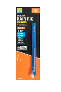 """Preston Innovations KKH-B Banded 10cm (4"""") Mag Store Hooklengths -Free Delivery"""