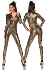 Sexy PVC punk CATWOMAN Party Fancy Dress Catsuit Jump suit COSTUME 7125 S-L