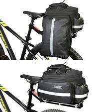 Roswheel Cycling Bike Bicycle Rear Seat Pannier Tail Bag Rack Trunk Shoulder Bag