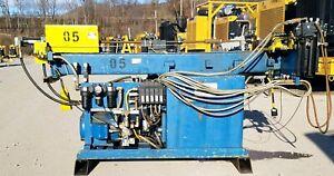 Pines Hydraulic Tube/Tubing Bender S/N 10100-60224 3 HP 480V with Allen Bradley