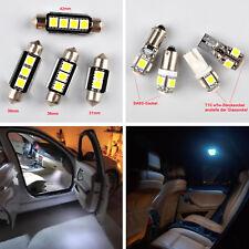 8PCS Kit d'éclairage intérieur LED Ampoules Pour VW GOLF 4 MK IV Blanc Xenon