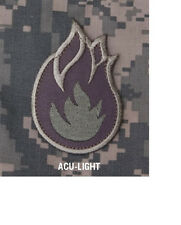 Morale Patch Milspec Monkey Fire Ball FireBall Flame Bomb - ACU LIGHT color NEW