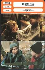LE BON FILS - Macaulay Culkin,Elijah Wood (Fiche Cinéma) 1993 - The Good Son