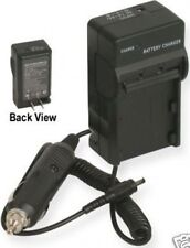 Charger for Casio EXH5 EXH5BK EXH5RD EXH5SR NP-80DBA