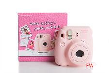 FUJIFILM Fuji Instax Mini 8 rosa Kamera inkl. 4 Filme für 40 Fotos  NEU