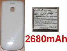 Carcasa Blanco + Batería 2680mAh Para HTC Magic
