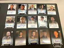 Rittenhouse Marvel Agents Of Shield Autograph Lot 42 Cards