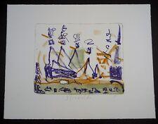 Strawalde Ausflug Farblithographie 1995 handsigniert und datiert