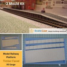 Model Railway Brick Timber Platform 2 Mould Kit - PL02 - OO Gauge