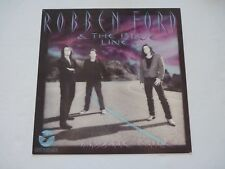 Robben Ford Blue Line Mystic Mile 90's Promo LP Record Photo Flat 12x12 Poster
