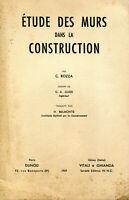 Rozza - Etudes des murs dans la construction