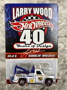 Hot Wheels Redline Ramblin Wrecker Larry Wood 40th Car Adult Collector 3474/5000