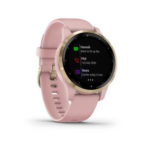 Garmin vivoactive 4S Watch Dust Rose Wristband: Dust Rose - Silicone