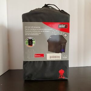 Weber Grill Cover With Storage Bag 7107 Fits Genesis 300 Series Gas Grills