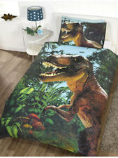 Bettwäsche Jurassic World Dinosaurier T. Rex Kinder Bettgarnitur 135x200/50x75cm