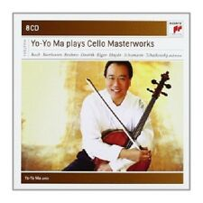 YO-YO MA: YO-YO MA PLAYS CONCERTOS,SONATAS AND SUITES;8 CD BACH/BEETHOVEN/+ NEU