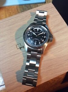 Hamilton H64455133 Khaki Field King Automatic Wrist Watch for Men