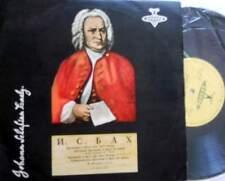"MARIA YUDINA:Bach""Preludies and fuguas"",Bach-Liszt""Organ preludes""AKKORD LP 1956"