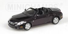 Lexus SC 430 cabrio abierto violeta metalizado 2001 - Minichamps - A escala 1/43