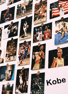 Lots 30pcs in memory of Kobe Bryant Basketball Post Card Set Postcards Bulk