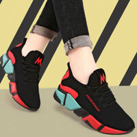 Women's Causal Shoes Sneakers Breathable Flats Outdoor Jogging Running Shoes