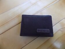 New Brown Leather Wenger Swiss Army Money Clip On Belt Wallet Billfold WEW06470