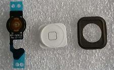 Home Homebutton Taste Gummi Dichtung Flexkabel Flex Set für iPhone 5 Weiss