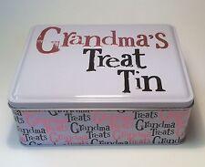 Grandma's Treat Tin Christmas Gift Ideas for Her & Grandparents