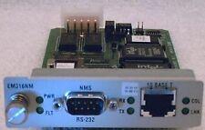 MRV Xyplex Fiber Driver EM316NM network management card FEDEX overnite available