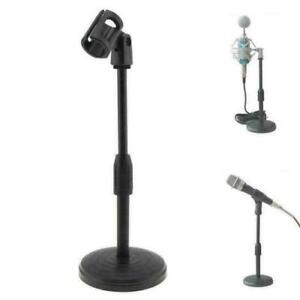 Foldable Desk Table Microphone Clip Stand Table Mic Adjustable Live Holder AU