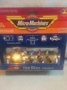 Micro Machines, Galoob, Hot Bikes Collection, Good Condition, BNIB, Free Postage