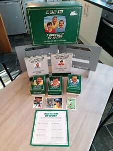 A Question of Sport Board Game With Tyson Senna Maradona Etc Cards Vintage 1986