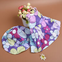 Handmade Fashion Doll Summer Dress & Hat Clothes for 18 inch Doll Wear New