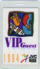 Buddy Guy John Mayall Jvc Jazz Fest 1994 Laminated Backstage Pass McCoy Tyner