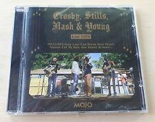 MOJO CROSBY, STILLS, NASH & YOUNG Live 1974 UK enhanced CD SEALED