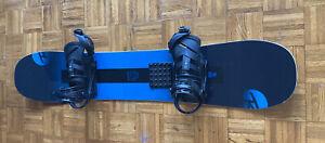Snowboard Freestyle Rossignol Sawblade 150 CM Burton Mission Bindings