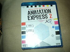 "RARE! BLU-RAY NEUF ""ANIMATION EXPRESS 2"" courts-metrages d'animation"