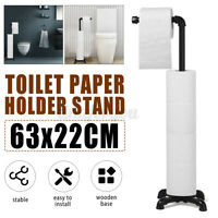Toilettenpapierhalter Toilettenrollenhalter WC Bürste Ständer Garnitur Industri