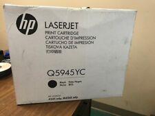 Genuine HP Q5945YC Black Print Cartridge Toner LaserJet M4345