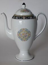 Wedgwood England RUNNYMEDE BLUE W4472 Coffee Pot