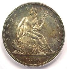 1879 PROOF Seated Liberty Half Dollar 50C Coin - ICG PR64 (PF64) - $1,560 Value!