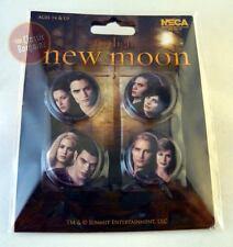 NEW MOON Twilight 4 PIN SET Edward Bella Jasper Alice Emmett Rosalie Cullens NEW