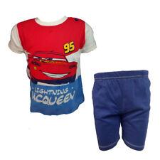 completo neonato spalla larga pantaloncino in cotone CARS WD101316