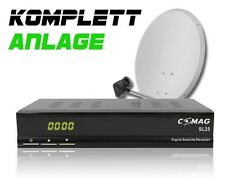 COMAG Digitale Single Sat-Anlage Komplett-Set SL 25