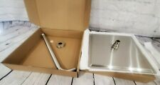 BRAND NEW LARGE 12 IN SQUARE ANTI-LEAKING RAINFALL SHOWER HEAD W/16 IN EXT ARM