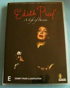 EDITH PIAF A Life of Passion DVD All Region